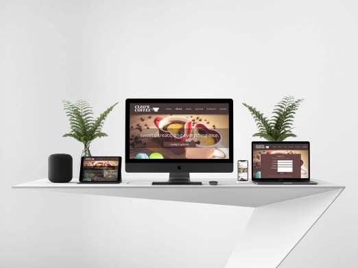 website-mockup web